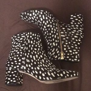 J. Crew ankle boots